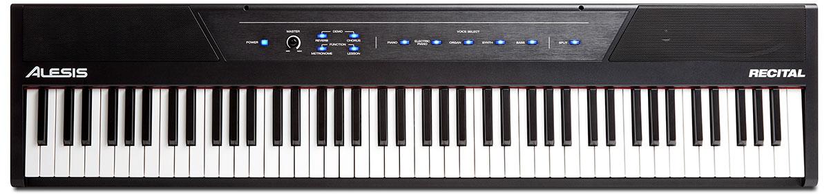 alesis recital beginner digital piano digital piano guide. Black Bedroom Furniture Sets. Home Design Ideas
