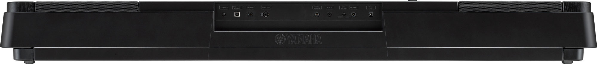 Yamaha DGX-660 back panel