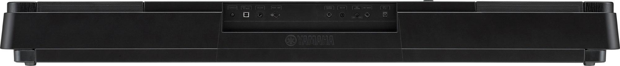 Yamaha DGX-660 back panel