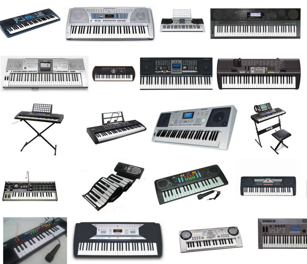 Electronic keyboards