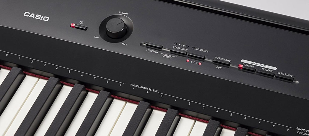 PX-160 controls