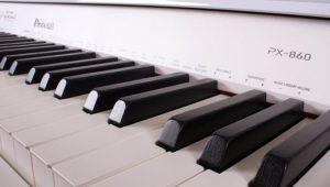 PX-860 white keyboard