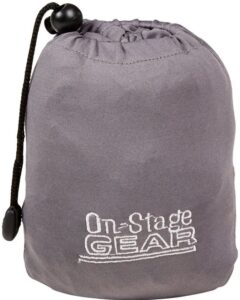 On-Stage Keyboard Dust Cover for 88 Key Keyboards bag