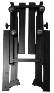 On stage 2tier heavy duty z-style stand