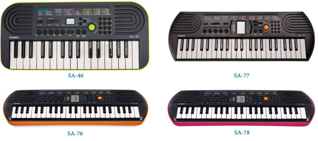 Casio SA-series keyboards