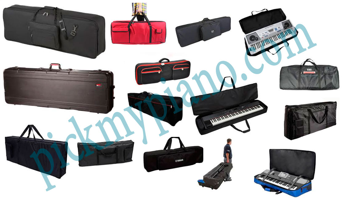 Keyboard piano bags and cases
