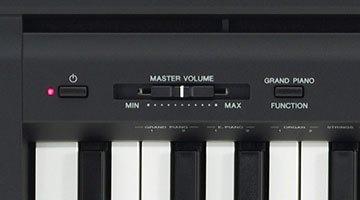 Yamaha P45 buttons