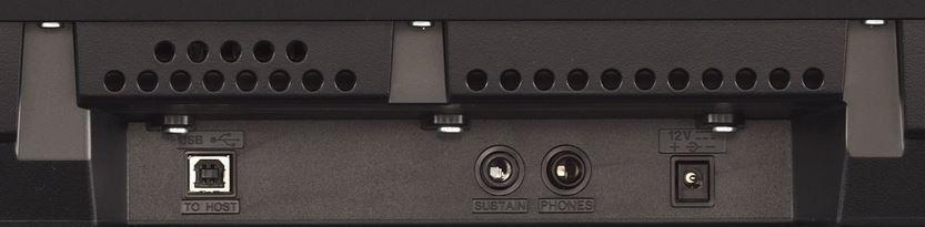 Yamaha P45 Connections