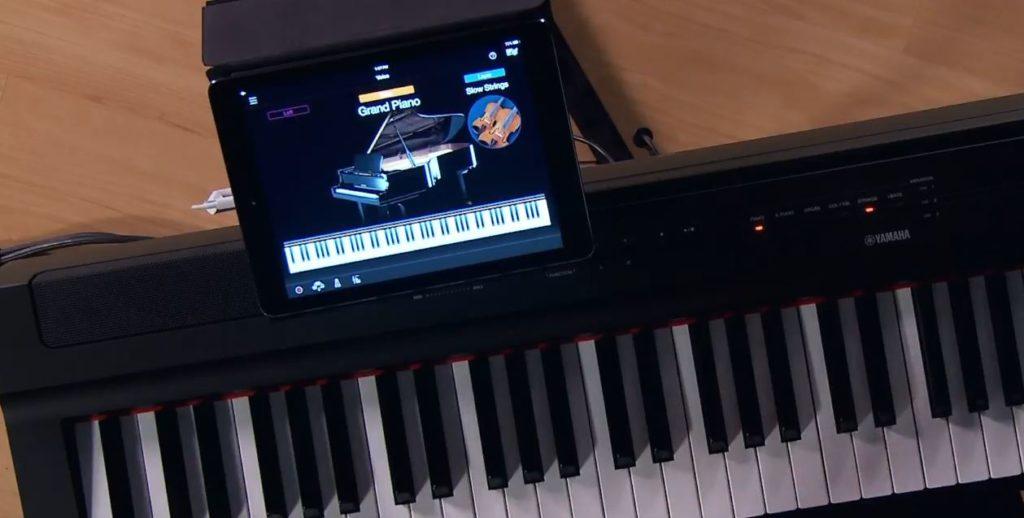 p-121 smart pianist app