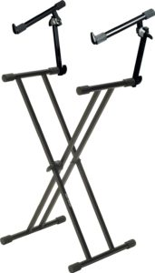 Quik Lok T22 2-tier keyboard stand